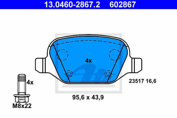 Blue Print ADG088396 coil spring Pack of 1
