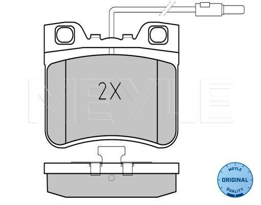 MBA1081 MINTEX Accessory Kit disc brake pads front