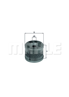 MAHLE Fuel Filter For BMW G 650 Xchallenge Xcountry Xmoto 06-09